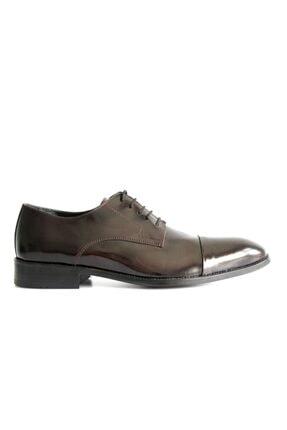 Beta Shoes Erkek Bordo League Deri Ayakkabı 1