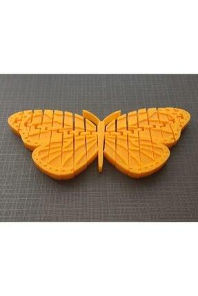 AldımGeldi Hareket Edebilir Monarch Kelebek Dekoratif Süs Eşyası Hediyelik 2
