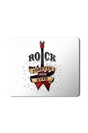 MET DESİGN Rock Forever Music Müzik Mouse Pad Mousepad 0