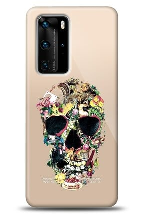 Mobilcadde Huawei P40 Pro Pretty Skull Kılıf 0