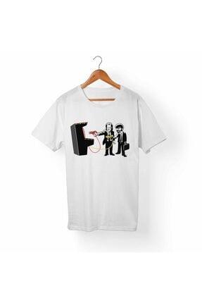 Alfa Tshirt Unisex Beyaz T-Shirt 0