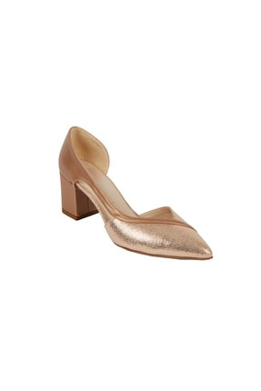 Picture of Kadın Bronz Rengi Topuklu Abiye Ayakkabı ANNA