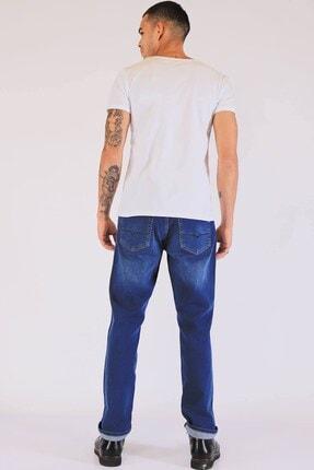 Twister Erkek Mavi Yüksek Bel Kot Pantolon Vegas 3