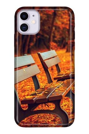 """Cekuonline Iphone 12 6.1"""" Kılıf Temalı Hd Desenli Silikon Kapak - Love Bank 0"""