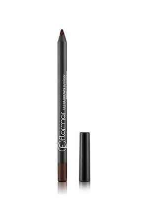 Flormar Kahverengi Eyeliner - Ultra Eyeliner 012 Brown 8690604254491 0