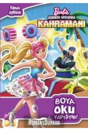 Doğan Egmont Barbie Video Oyunu Kahramanı Boya Oku Yapıştır 0