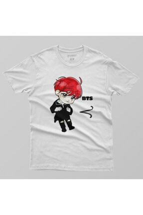 Crazy Bts V Cartoon Erkek Tişört 1