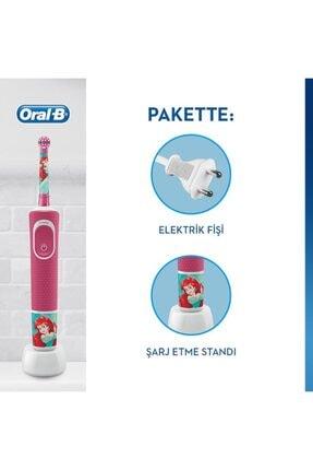 Oral-B D100 Çocuklar Için Şarj Edilebilir Diş Fırçası Princess+puzzle 3
