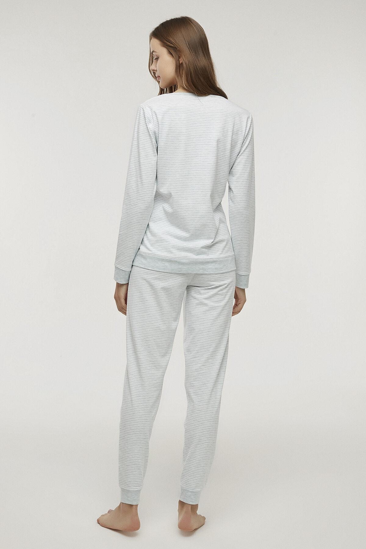 Penti Kadın Stripy Pijama Takımı 3