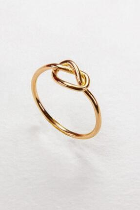 Aşk Düğümü Altın Yüzük RUEL12342