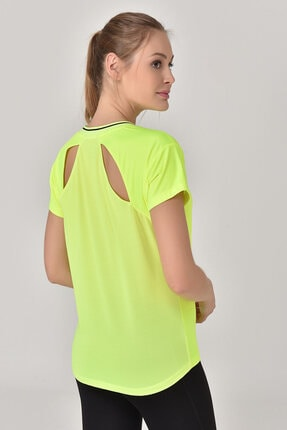 bilcee A.Yeşil Kadın T-Shirt GS-8029 3