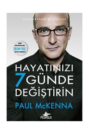 Pegasus Yayınları Hayatınızı 7 Günde Değiştirin (Zihin Programlama Hipnoz CD'li) - Paul Mckenna 0