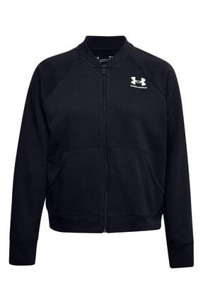 Under Armour Kadın Spor Sweatshirt - Rival Fleece Jacket - 1358148-001 0