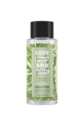 Love Beauty and Planet Çay Ağacı Yağı Ve Vetiver Özlü Şampuan 400 Ml 0