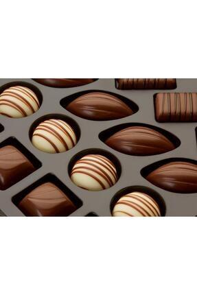Elit Çikolata Gourmet Collection Çiçekli Metal Kutu 167g 2