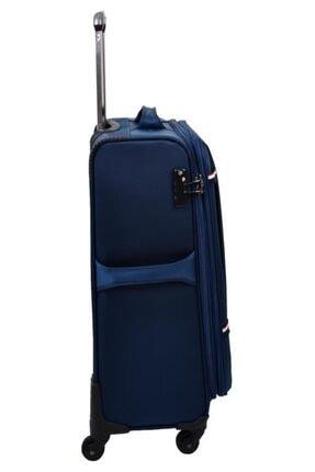 US Polo Assn Unisex Lacivert  Valiz Orta Boy Kumaş Valiz 3