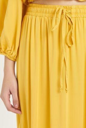 Batik Kadın Sarı Düz Etek Y10659 3