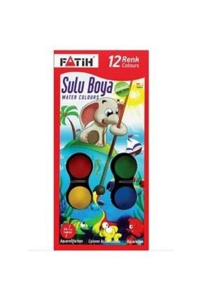 Fatih Sulu Boya 12 Renk S-12 Big Size 0