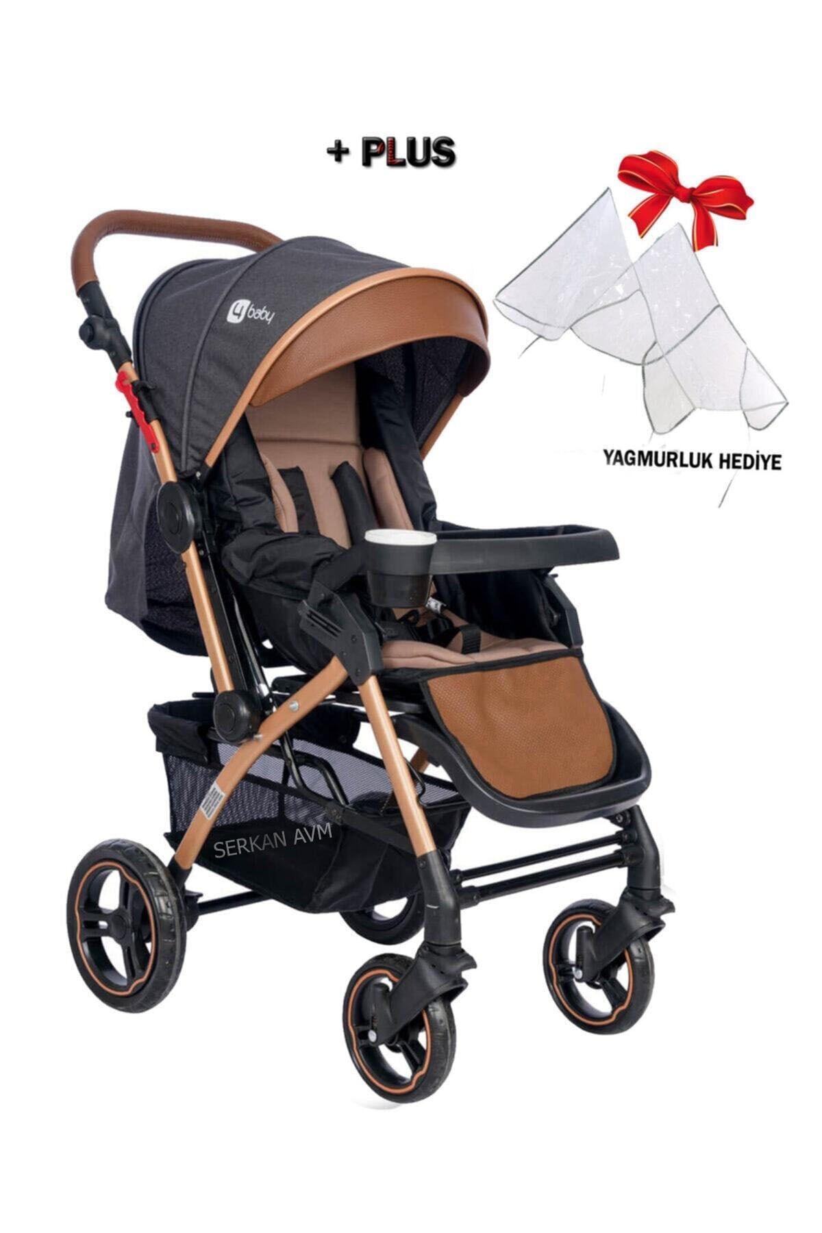 Active + Plus Gold Çift Yönlü Bebek Arabası