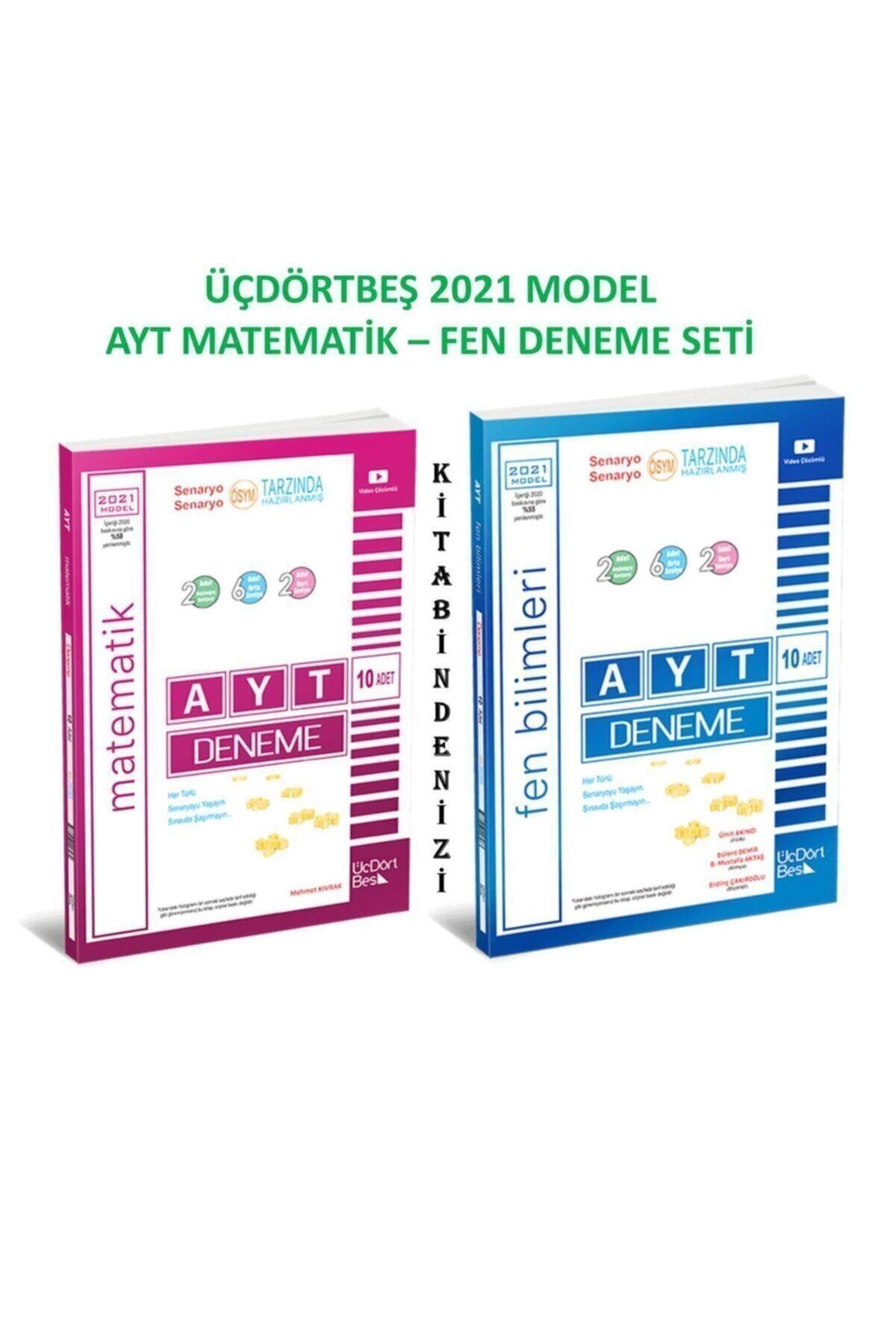 Üçdörtbeş Ayt Matematik-fen Deneme Seti 2021 Model