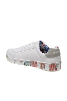 Lumberjack DELBIN 1FX Beyaz Kadın Havuz Taban Sneaker 100933280 2
