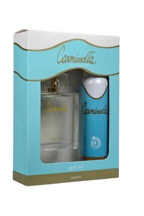 Carminella Classic Edt 100 ml Kadın Parfüm ve Classic 150 ml Deo Set 8690973371348 0