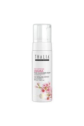 Thalia Sakura Özlü Yaşlanma Karşıtı Yüz Temizleme Köpüğü 200 ml 0