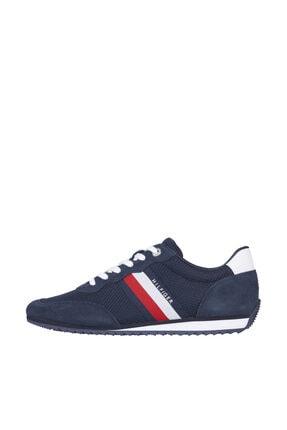 Tommy Hilfiger Erkek Mavi Sneaker FM0FM03417 0