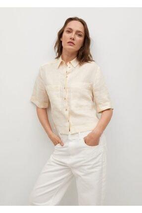 Picture of %100 Kısa Keten Gömlek