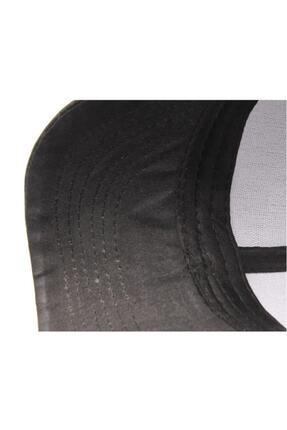 PRC şapka Yazlık Örme Fileli Düz Renk Arkası Ayaralanabilir Şapka Kepler 4