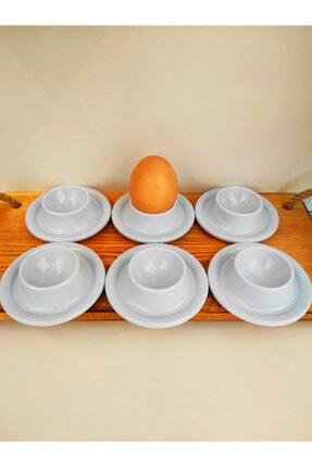 SLV 6' Lı Beyaz Kırılmaz Yumurtalık Takımı 4