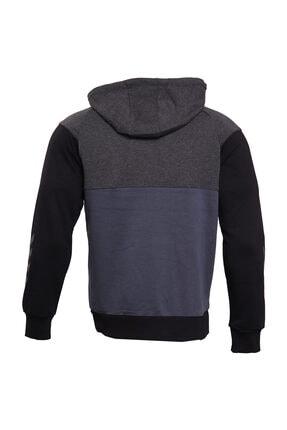 HUMMEL Fred Kapüşonlu Gri Erkek Sweatshirt 2