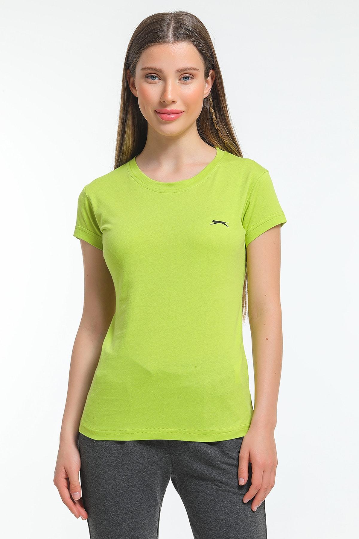 Slazenger Move Kadın T-shirt Yeşil 0