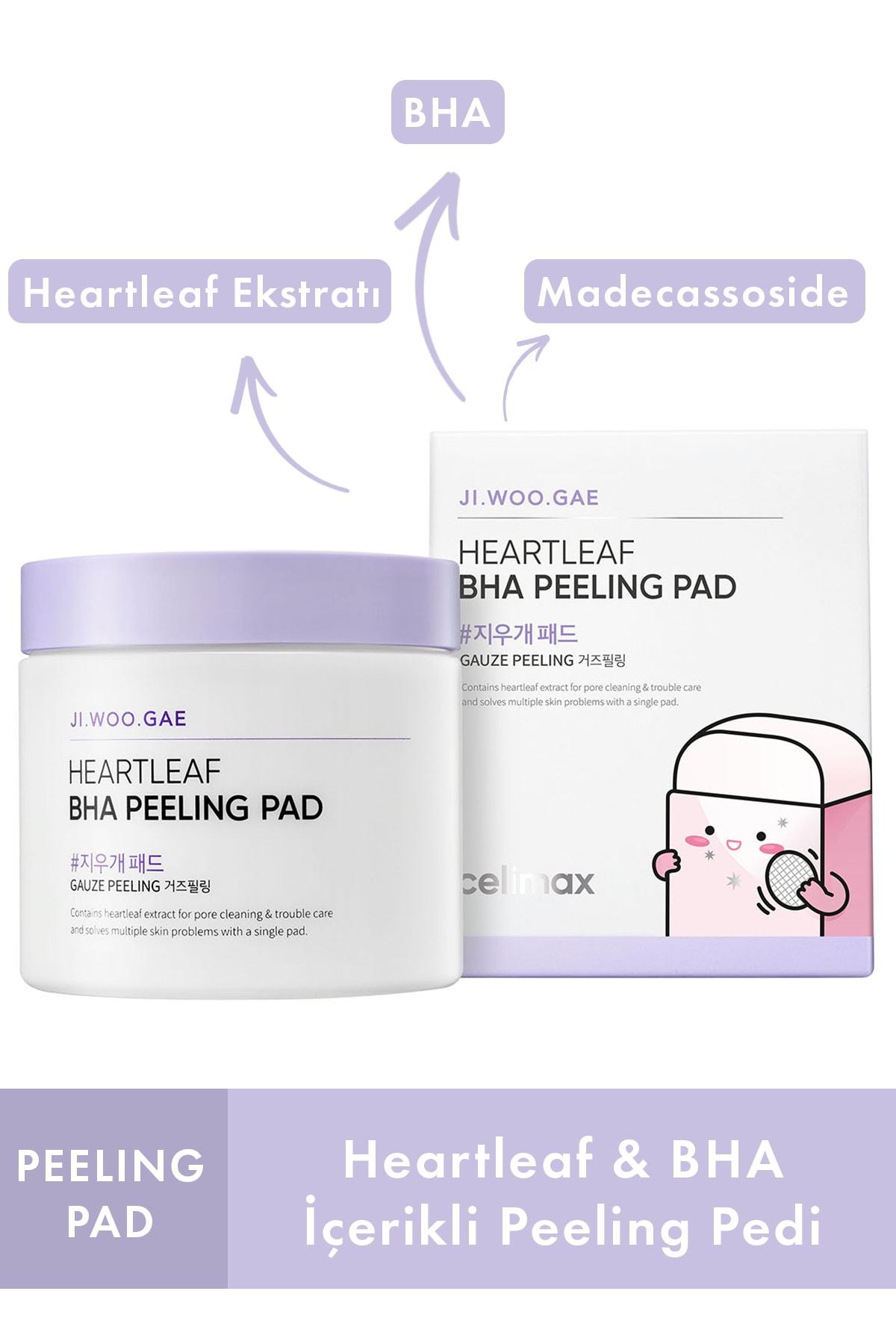 Jiwoogae Heartleaf Bha Peeling Pad 60'lı