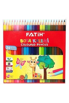 Fatih Kuru Boya 24 Renk Tam Boy 0
