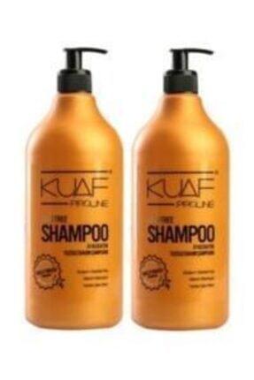 Kuaf Tuzsuz Şampuan 2 X 1000 ml Keratin Maskesi 500 ml 0