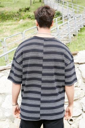 Sateen Men Erkek Siyah Ince Triko T-Shirt 2