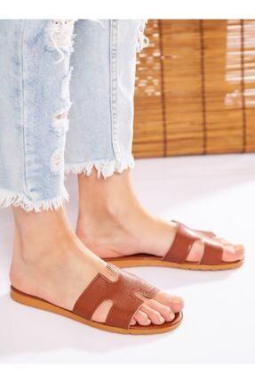 ayakkabıhavuzu Kadın Taba Terlik 2