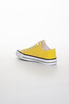 Odal Shoes Unisex Sarı Ortopedik Şeritli Sneakers Cnvrs3579746 3
