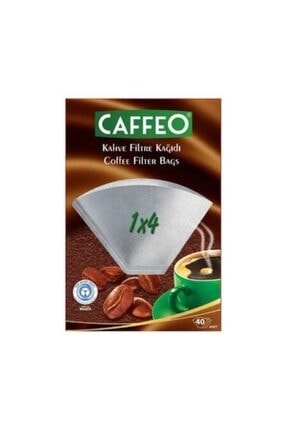 Caffeo Filtre Kahve Kağıdı 1x4 40 Lı 0