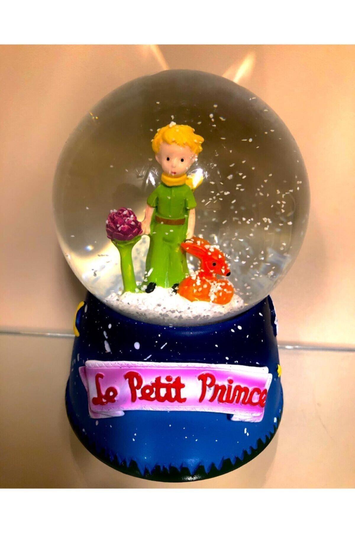 Küçük Prens Büyük Boy Müzikli Işıklı Kar Küresi