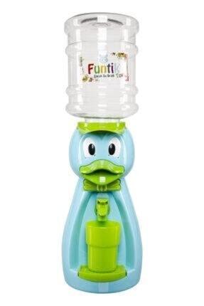 Unisex Yeşil Hayvan Figürlü Su Sebili Yeşil Ördek Sebil