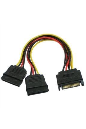OEM Sata Power Çoklayıcı Y Kablo Ekran Kartı Güç Kablosu Bakır Kablo - Sata To 2 X Sata Power Çoklayıcı 1