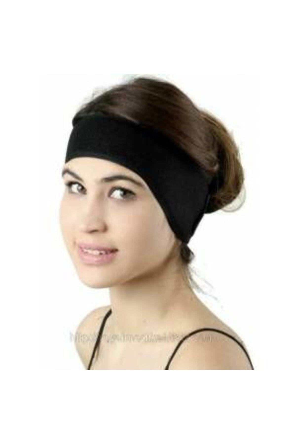 Türkmedical Unisex Siyah Kepçe Kulak Bandı
