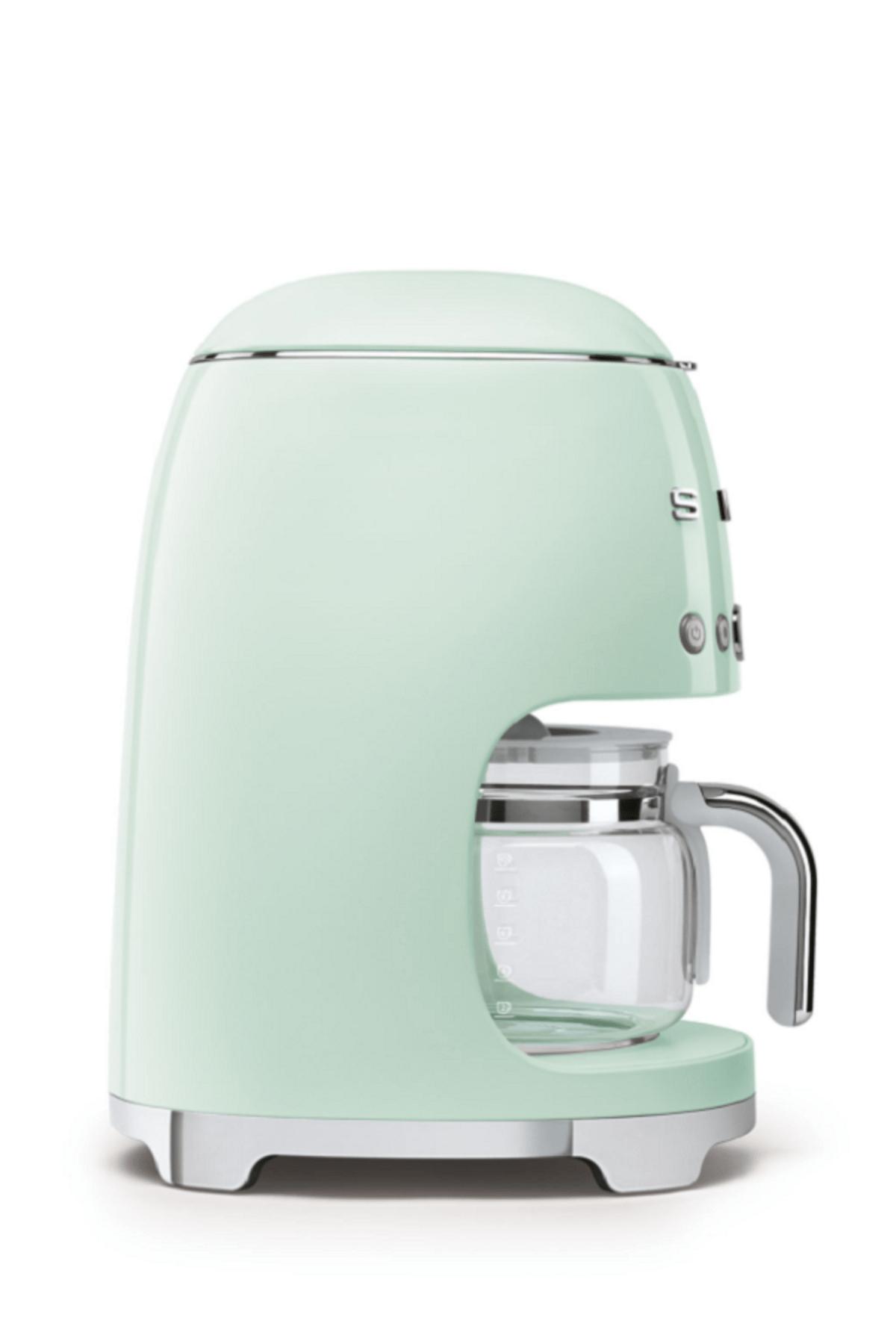 Smeg Pastel Yeşil Filtre Kahve Makinesi 3
