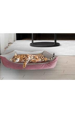 Kedi Yatağı Köpek Yatağı Yavru Kedi Yatağı Yavru Köpek Yatağı 40x50 Pembe est01333