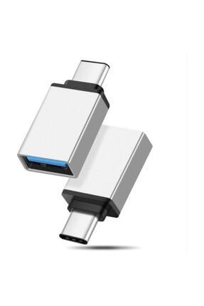 Syrox Usb Type-c Dönüştürücü Otg Çevirici Adaptör Metal Xiaomi-samsung 0