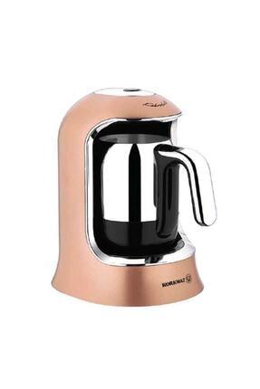 KORKMAZ Kahvekolik Rosegold Krom Otomatik Kahve Makinesi A860-06 0
