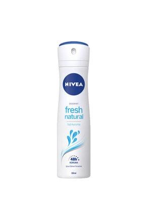 Nivea Deo Sprey  Fresh Natural Kadın 150 ml 0