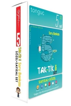 Tonguç Akademi 5. Sınıf Taktikli Tüm Dersler Soru Bankası Seti 0